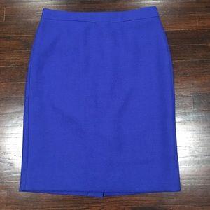 J. Crew No. 2 Pencil Skirt 100% Wool Sz 8 Lined